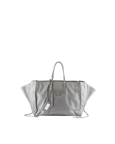 Papier A5 Zip Around Tote Bag, Gray