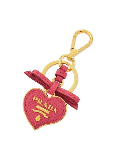 Prada heart keyring - Red 80Obwne