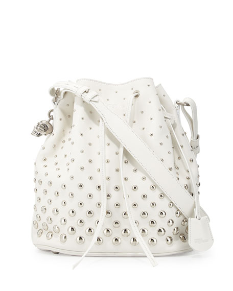 bucket bag - White Alexander McQueen Outlet With Credit Card 2018 Cheap Sale PM91gfX
