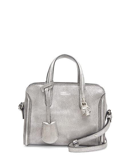 add7aeef267d Alexander McQueen Mini Padlock Zip-Around Tote Bag