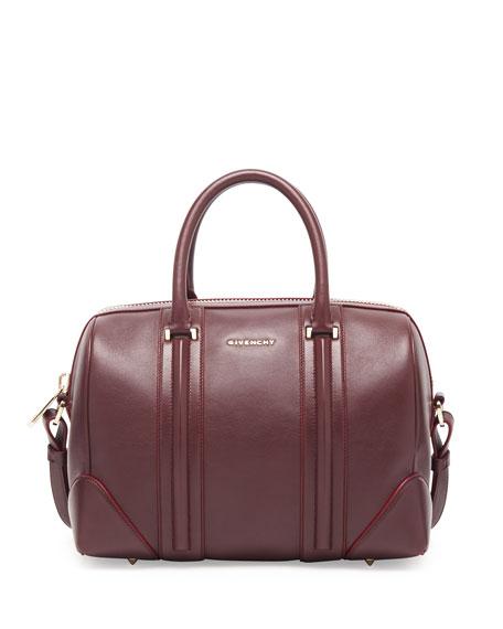 f1a6e83a7f Givenchy Lucrezia Medium Leather Satchel Bag
