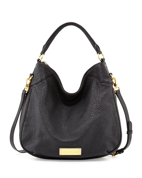 acc0bbac69 MARC by Marc Jacobs Washed Up Billy Hobo Bag, Black Multi