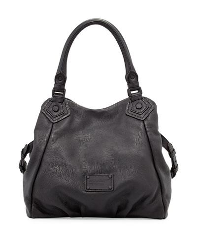 Electro Q Fran Shoulder Bag, Black