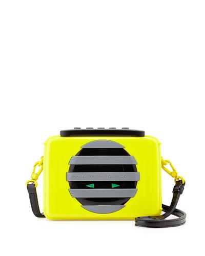 Out Loud Shoulder Bag, Disco Yellow