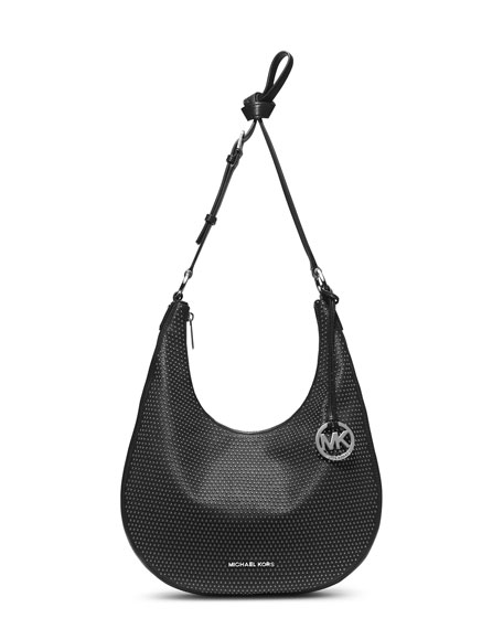 MICHAEL Michael Kors Medium Rhea Studded Slouchy Shoulder Bag 4b95087f1