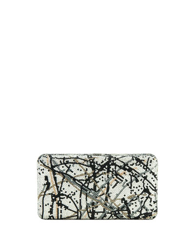 Airstream Crystal Splatter Clutch Bag