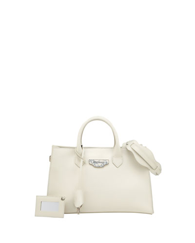 Nude Works Extra-Small Tote Bag, White