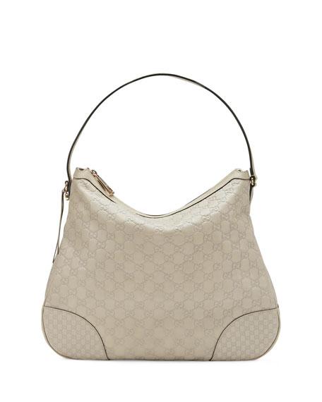 5f9afcb71a09 Gucci Bree Guccissima Leather Hobo Bag