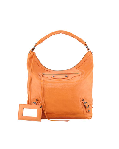 Classic Day Bag, Tangerine