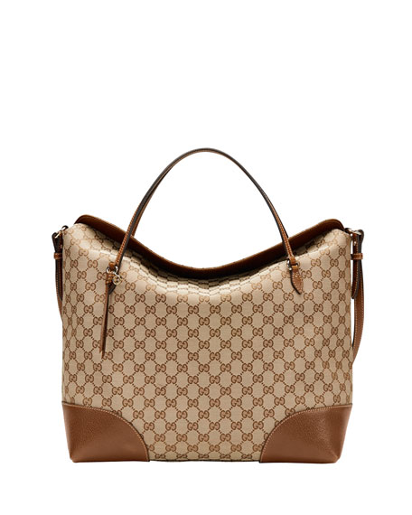 e21b6e2e944 Gucci Bree Original GG Canvas Large Tote Bag