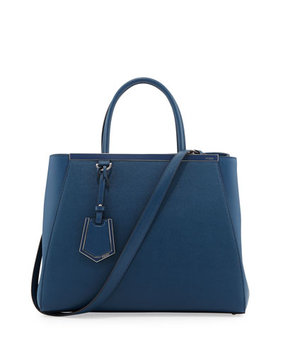 2Jours Saffiano Tote Bag, Blue