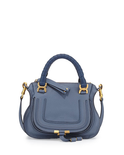 Marcie Mini Shoulder Bag, Street Blue