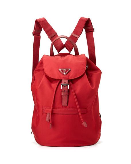 Red Vela pouch with pocket Prada Tfdt0Jl8