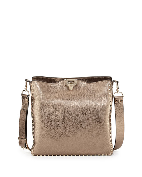 Rockstud-embellished nylon pouch Valentino GlQEp