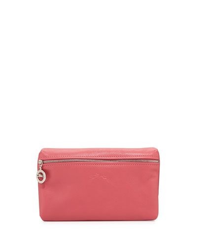 Le Pliage Leather Cosmetics Case, Malabar