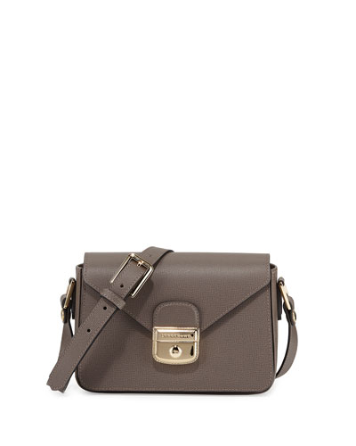 Le Pliage Heritage Small Crossbody Bag, Terra