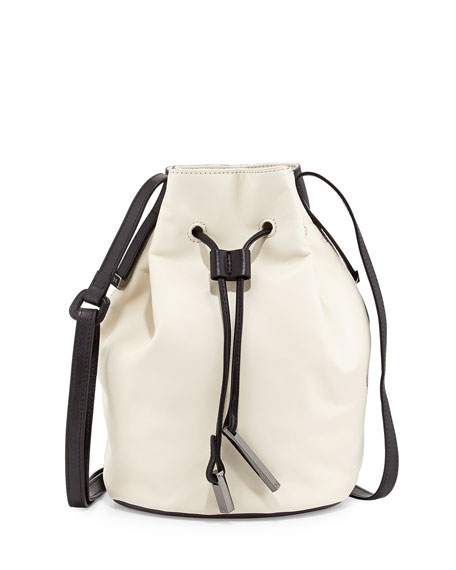 87012f8bf12f Halston Heritage Colorblock Drawstring Bucket Bag