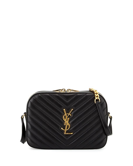 Monogramme Leather Shoulder Bag - Black Saint Laurent PycKuFpOa