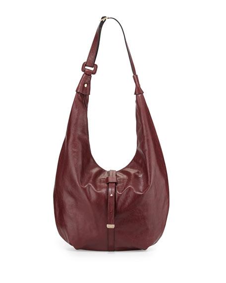 4bca79d82f Halston Heritage Smooth-Leather Hobo Bag
