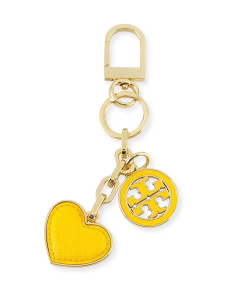 heart & logo keyring Tory Burch wm0z7O