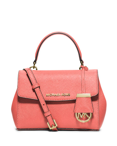 79b464c76a9b MICHAEL Michael Kors Ava Extra-Small Crossbody Bag, Pink Grapefruit