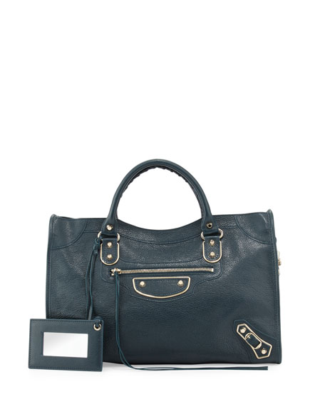 a2271ab70f62 Balenciaga Metallic Edge Classic City Bag