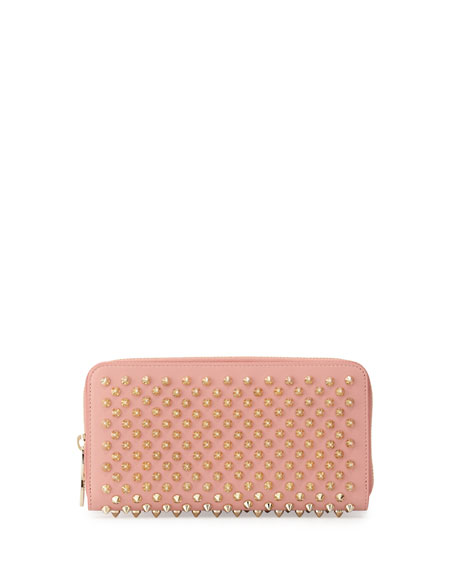 Panettone Spiked Zip Wallet Pink