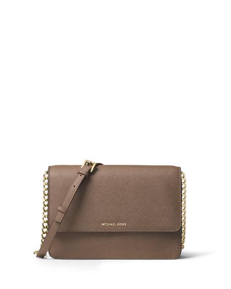 af68da11c2c1 MICHAEL Michael Kors Daniella Large Saffiano Crossbody Bag