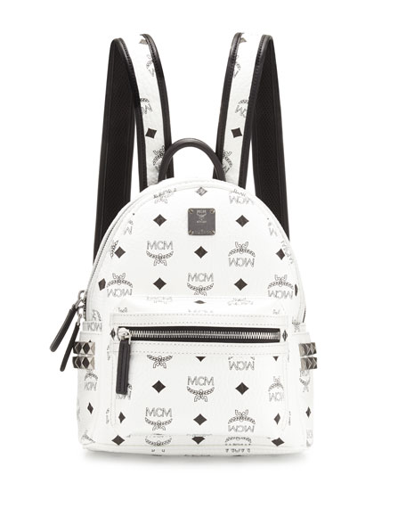 97ed050906 MCM Stark Side-Stud Mini Backpack