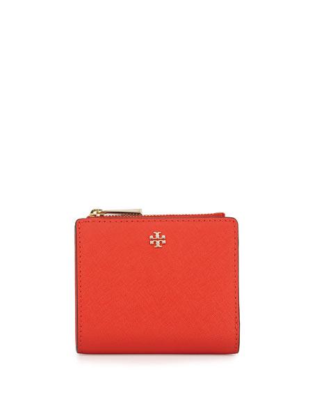 6176b76fa Tory Burch Robinson Leather Mini Wallet
