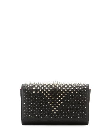 31938ef08d84 Christian Louboutin Paloma Fold-Over Spike Clutch Bag