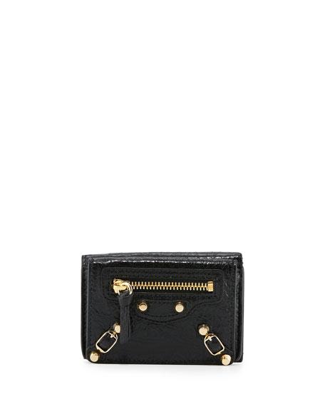 Textured-leather Wallet - Black Balenciaga DQC0oD