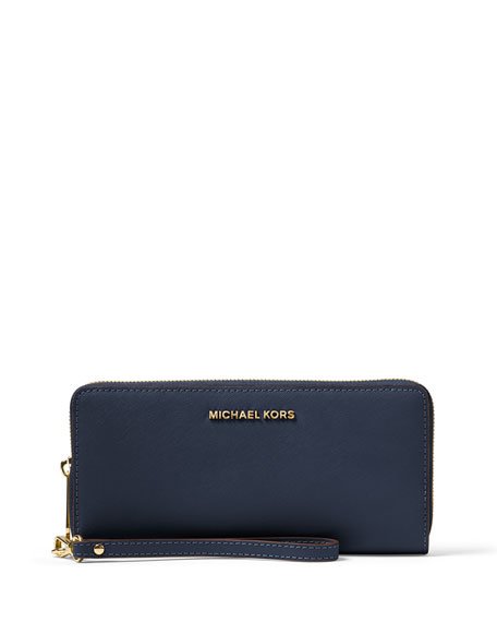 c448b6f60b57 MICHAEL Michael Kors Jet Set Travel Continental Wristlet Wallet