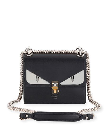 Kan I shoulder bag - Black Fendi 3sN8SRq