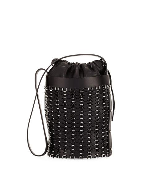 drawstring bucket bag - Black Paco Rabanne QapzJjwy