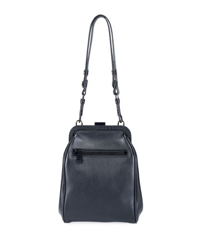 Large Pouch Crossbody Bag, Black