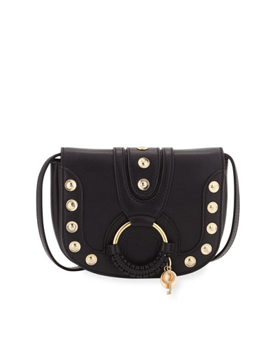 Hana Mini Studded Leather Shoulder Bag