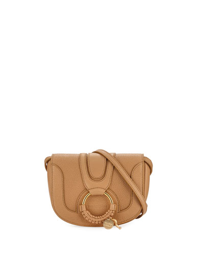 Hana Mini Leather/Suede Shoulder Bag