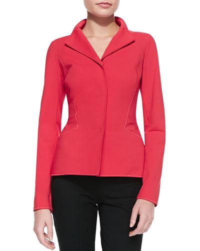 Zena Fundamental Bi-Stretch Jacket, Dynamite