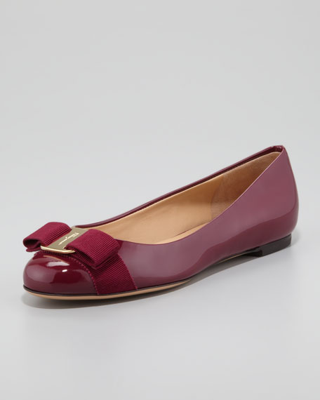 2014 online discount prices Salvatore Ferragamo Varina ballerinas clearance low cost IYWRWkTPZ