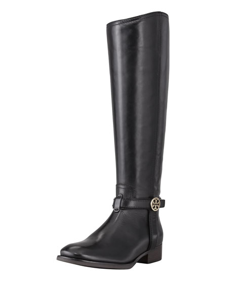8ee4dcf872ef Tory Burch Bristol Leather Riding Boot