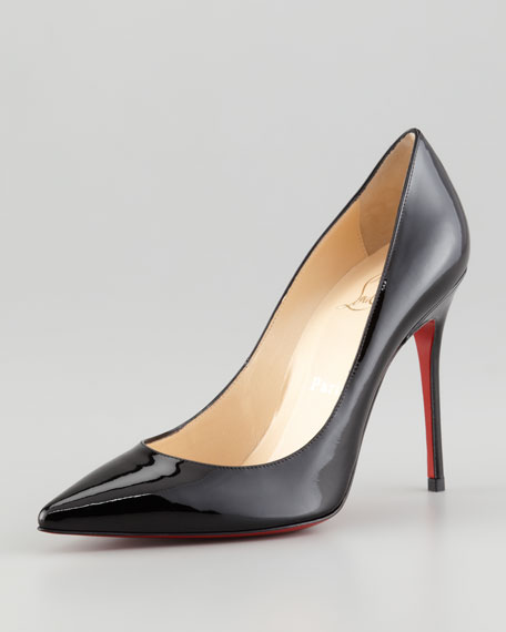 Christian Louboutin Decollete Patent Leather Red Sole Pump dd271ef5cb4