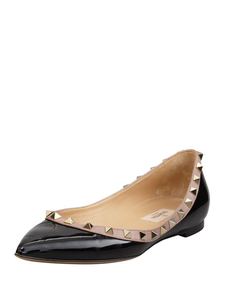 websites cheap online Valentino Patent Leather Ballet Flats best for sale buy cheap price OO4o95F77k