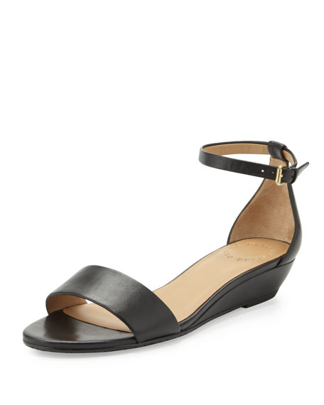 collections sale online Marc by Marc Jacobs Leather Wedged Sandals clearance official site fUg9Lv