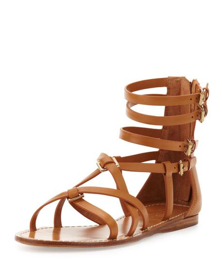 edd2d3c140515d Tory Burch Lucas Leather Gladiator Sandal