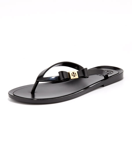 5565c87c62dc5 Tory Burch Michaela Bow Jelly Thong Sandal