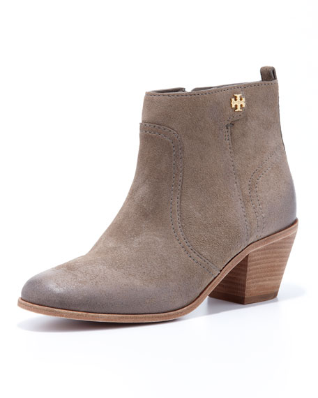 ccc9dade49cb Tory Burch Leena Suede Bootie