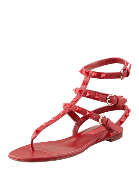 Red ankle-strap sandals Red Valentino C2lIy