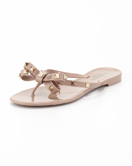 outlet locations cheap online ost release dates Valentino nude Rockstud studded PVC sandals cheap sale clearance wholesale price sale extremely xLdhfjQvp