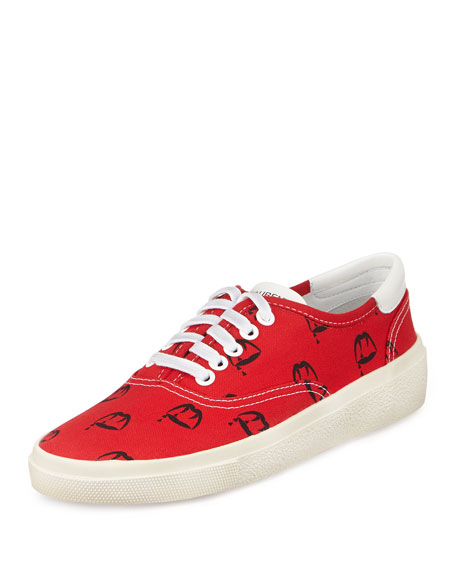 lace-up sneakers - Red Saint Laurent 43Us9jV7